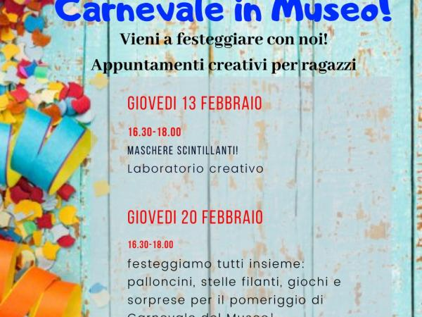 Carnevale in Museo!